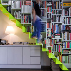 Contemporary Staircase by Charlotte LARDEYRET architecte DPLG