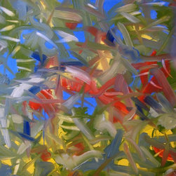 """""""IMG 1073"""" Artwork - Oil on canvas based on natural elements"""