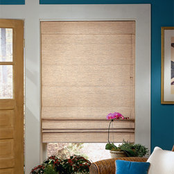 Bali - Bali Casual Classics Roman Shades: Linen - Soft, casual colors combine with classic linen looks to give your windows style and sophistication.  Casual Classics Roman shades offer the softness of a drapery with the practicality of a shade.
