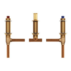 "Moen - Moen 4792 Two Handle Roman Tub Valve Adjustable 1/2"" CC Connection - Moen 4792 Two Handle Roman Tub Valve Adjustable 1/2"" CC Connection"