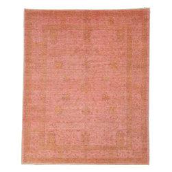 eSaleRugs - 7' 11 x 9' 8 Over-Dyed Ziegler Oriental Rug - SKU: 22132488 - Hand Knotted Over-Dyed Ziegler rug. Made of 100% Hand Spun Wool. Brand New.