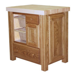 Chelsea Home Furniture - Paula Kitchen Island - The Paula Kitchen Island is built with a classic ...