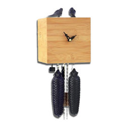 ROMBACH UND HASS - Free Birds - Bamboo Cuckoo Clock - 8 day Movement - Official Black Forest clock licensed by the VDS