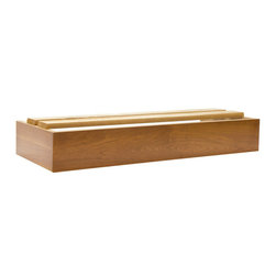 Hale - Extra Deep Box Base Section for Bookcase - Originally known as the Barrister's Bookcase, Hale's sectional shelving has evolved from a case in which to store law books, to a modular system that can be used in every room any room of your home for any purpose.