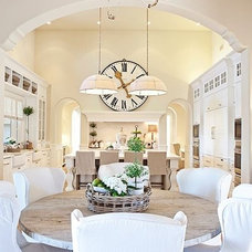 STUNNING white & cream kitchen | Home Decor that I love