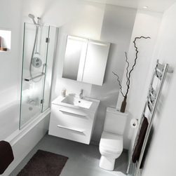 AMBIANCE BAIN - CITY BY AMBIANCE BAIN - AMBIANCE BAIN modular units comprise numerous ranges of stylish ready-made designs. They are available in set sizes with set specifications. Simply follow the steps below and you will soon be on your way to your new bathroom.