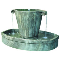 Traditional Outdoor Fountains And Ponds by Soothing Company