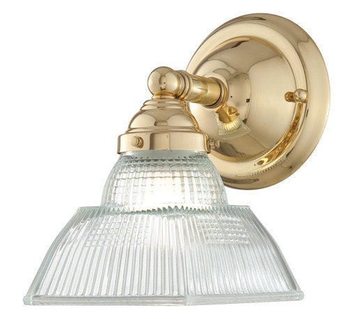 Hudson Valley Lighting - Hudson Valley Lighting 4511-PB Majestic Square Brass Wall Sconce - Hudson Valley Lighting 4511-PB Majestic Square Brass Wall Sconce