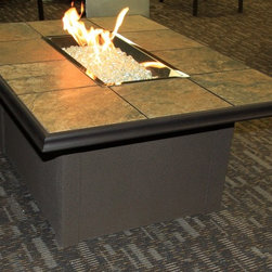 Napa Valley Fire Pit Table - Exterior grade stucco base