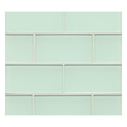 Spa Glass - Crete 3x6 Subway Glass Tile SAMPLE - Crete 3X6 Subway Glass Tile Sample Piece. Samples are the best way to help define your search for that perfect compliment to your color pallet. This individual 3X6 glass subway tile is perfect for building your design inspiration. We highly recommend the purchase of a sample to avoid confusion of color representations on line and to insure the tile you choose is the ideal compliment for your design. Sample is for a piece of 3X6 tile not a full square foot. MAXIMUM ORDER IS 1 TILE