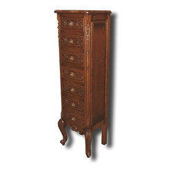 EuroLux Home - New Chest of Drawers Oak French Oak 7-Drawer - Product Details