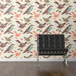WallsNeedLove Birds and Beetles Self-Adhesive Wallpaper - Liven up your space with WallsNeedLove Birds and Beetles Self-Adhesive Wallpaper, featuring retro-hued critters. About Walls Need LovePeel. Stick. Repeat. Walls Need Love started in 2009. They are a small company filled with people-loving sticker fiends. Walls Need Love wants to make your house the stylish dream home you've always wanted and do it with easy-to-use vinyl wall decals. Walls Need Love has been featured in Better Homes and Gardens, Good Housekeeping, USA Today, Fab, and Apartment Therapy.