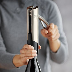Personalized Screwpull Vertical Lever Wine Opener - I love this wine opener because it opens a bottle effortlessly.