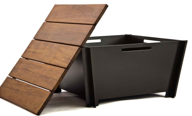 Modern Fire Pits Groovebox Fire Pit 1.0
