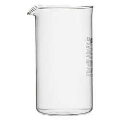Replacement 34 oz Carafe for Bodum® Chambord French Press - Glass carafe fits our Bodum® Chambord 32-ounce French Press.