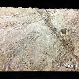 All Natural Stone - Ivory Coast Granite Slab - Ivory Coast Granite Slab. Perfect for Kitchen or Bathroom Counters.