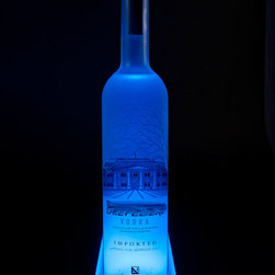 "Armana - LED Illuminated Liquor Shelf and Display, 3 Foot - Armana standard width LED illuminated Liquor Shelves are the thinnest on the market, measuring in at only .75"" thick. Using powerful RGB LEDS that are rated at over 50,000 hours of life,  allows you to choose from an unlimited number of colors and effects."