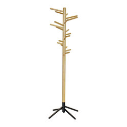 Artek - Artek Clothes Tree 160 - Don't hang your hat just anywhere. All your hats, jackets and purses can be stylishly hung on this modern clothes tree. Organization has never been so lovely.