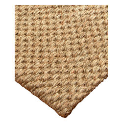 """Natural Area Rugs - """"Josephine"""" Sisal Rug, 100% Natural Fiber - All natural sisal rug handcrafted by Artisan rug maker. Naturally durable and anti-static, this earth friendly rug is great for high traffic areas. Enjoy this self bound sisal rug with non-slip latex backing along with its stylish and contemporary look. Variations are part of the natural beauty of natural fiber. We recommend a rug pad as it will protect not only your rug but your hardwood floor as well."""