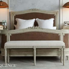 Mediterranean Bedroom Benches by The Bella Cottage