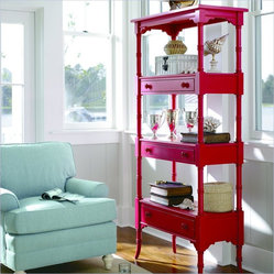 Coastal Living by Stanley Furniture Etagere in Beach Cruiser