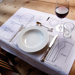 eclectic table linens by Selekkt