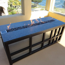 Contemporary Fire Pits by FireCrystals