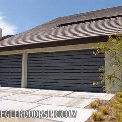 """Composite Wood Garage Doors """"Eco Series"""" for Home Builders by Ziegler Doors Inc -"""