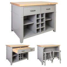 Transitional Kitchen Islands And Kitchen Carts by Corbel Universe