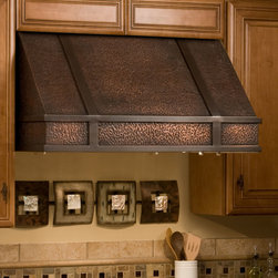 "36"" Limoges Series Copper Wall-Mount Range Hood - Keep the air in your kitchen fresh with the stylish 36"" Limoges Series Copper Wall-Mount Range Hood. This kitchen exhaust fan removes smoke, steam and odors from the kitchen."