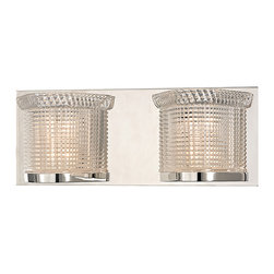 HUDSON VALLEY LIGHTING - Hudson Valley Lighting Denning-Bath And Vanity Polished Nickel - Free Shipping