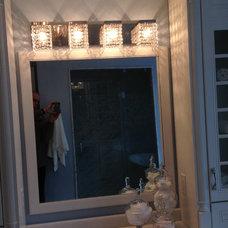 Transitional Bathroom Vanity Lighting by Main Line Lighting & Design
