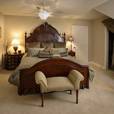 Traditional Bedroom by Julie Sandman Interiors