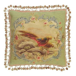 """EuroLux Home - New Aubusson Throw Pillow 20""""x20"""" Two - Product Details"""