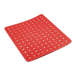 COZA Design - Coza- Strong Durable Sink Mat, Red - Exclusive COZA Design