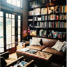 Eclectic  Organization Inspiration: Neat & Beautiful Bookshelves | Apartment Therapy DC