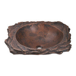 MR Direct - MR Direct 962 Bronze Drop-In Sink, No Drain - Our uniquely designed bronze sinks will add an element of art to any decor. Each bronze sink comes with a beautifully aged patina that will make your sink easy to care for. Each sink is fully insulated and covered by a limited lifetime warranty.
