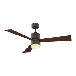 """Fanimation - Fanimation Zonix 54"""" Modern / Contemporary Ceiling Fan X-BO0564PF - Sophisticated and stylish, The Zonix by Fanimation is the perfect eye candy for any contemporary room. The minimalist appearance and intelligent design of this three bladed ceiling fan are the perfect dichotomy of simple and smart. Optional controls are available."""