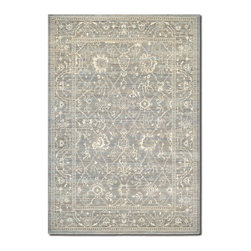 """Couristan - Everest 5'3"""" x 7'6"""" Rectangle Traditional - Everest Arabesque 6340-6323-Charcoal  5.3 x 7.6"""