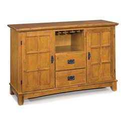 Home Styles - Home Styles Arts & Crafts Dining Buffet in Cottage Oak - Home Styles - Buffet Tables & Sideboards - 518069