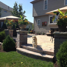 Traditional Patio by Burkhart Design