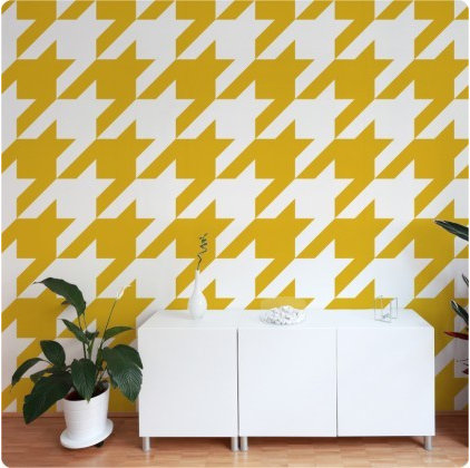 contemporary wallpaper by The Wall Decal Company
