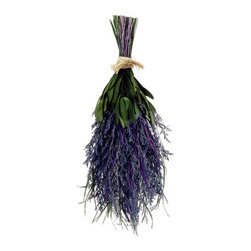 Silk Plants Direct - Silk Plants Direct Preserved Lavender Bouquet (Pack of 6) - Silk Plants Direct specializes in manufacturing, design and supply of the most life-like, premium quality artificial plants, trees, flowers, arrangements, topiaries and containers for home, office and commercial use. Our Preserved Lavender Bouquet includes the following: