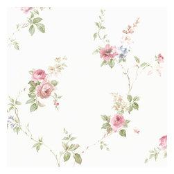 Mini Rose Vine in Pink - CN24621 - Collection:Rose Garden