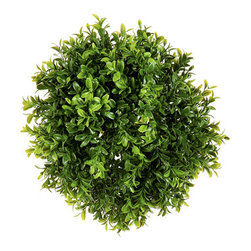 Silk Plants Direct - Silk Plants Direct Boxwood Ball (Pack of 6) - Silk Plants Direct specializes in manufacturing, design and supply of the most life-like, premium quality artificial plants, trees, flowers, arrangements, topiaries and containers for home, office and commercial use. Our Boxwood Ball includes the following: