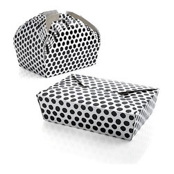 Party Dots Food Boxes, Set of 6 - Want to take a salad to go? No problem! These have you covered.