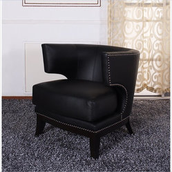 Transitional Chairs Design Ideas, Pictures, Remodel and Decor