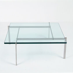 Modern Classics - Kjaerholm: PK61 Table Reproduction - Features: