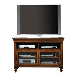 Hooker Furniture - Hooker Furniture Wendover 44 Inch Entertainment Console - Hooker Furniture - TV Stands - 103756470 - Wendover's style is relaxed and casual but it works hard to make it easy for you to find a solution for virtually any home office or home entertainment need.