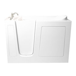 Atlas International - Ariel EZWT-3052 Walk-In Bathtub AIR L - Ariel Walk-In Bathtubs combine safety and convenience. They come with a door and built in seat so you can enjoy a private & relaxing bath experience.